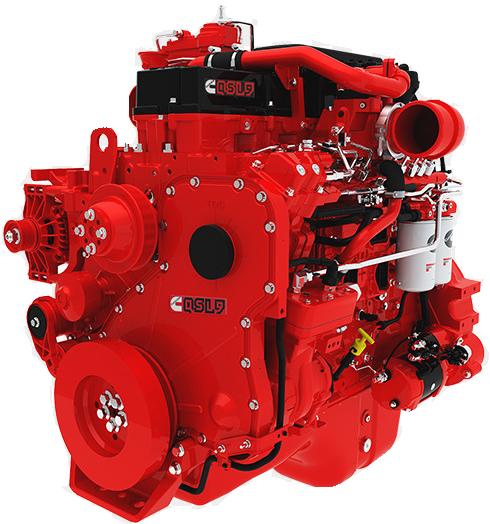 Двигатель Cummins QSL9